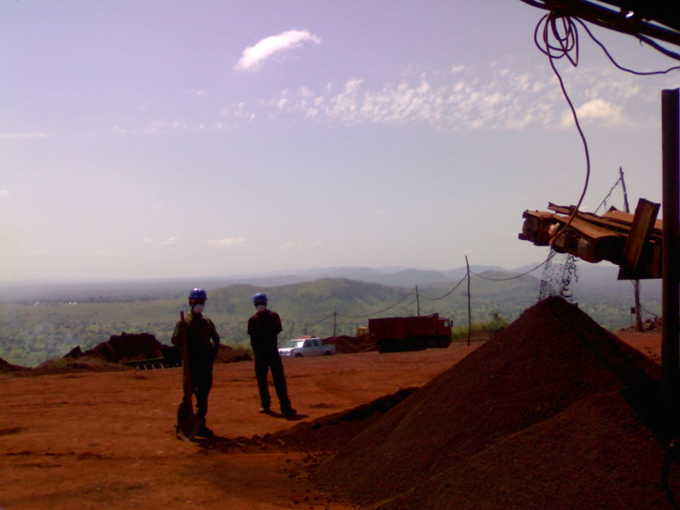 Extraction of iron by MM Mining in Bassar (Bangeli) – Under the EITI, companies exploiting minerals do not report amounts paid for water use and water treatment