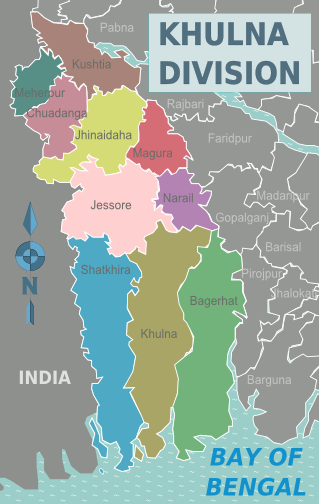 Khulna_Division_districts_map